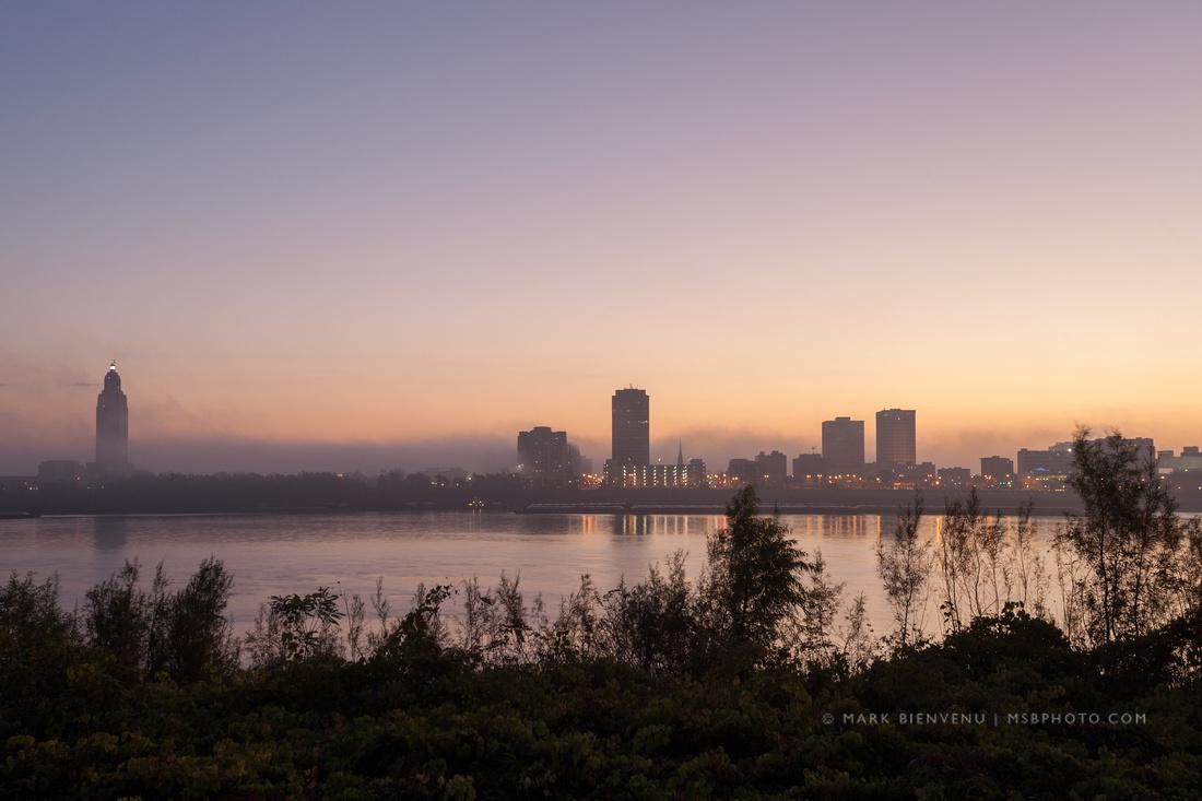 Baton Rouge Skyline - Sunrise