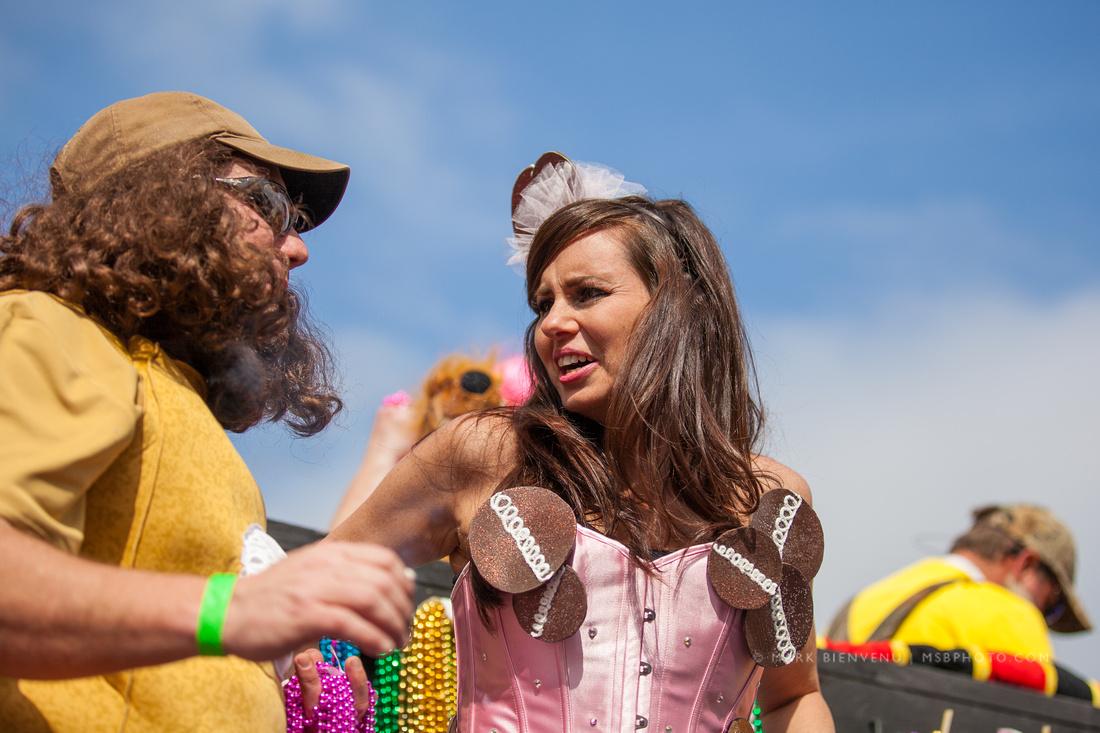Spanish Town Mardi Gras Parade - Baton Rouge, Louisiana