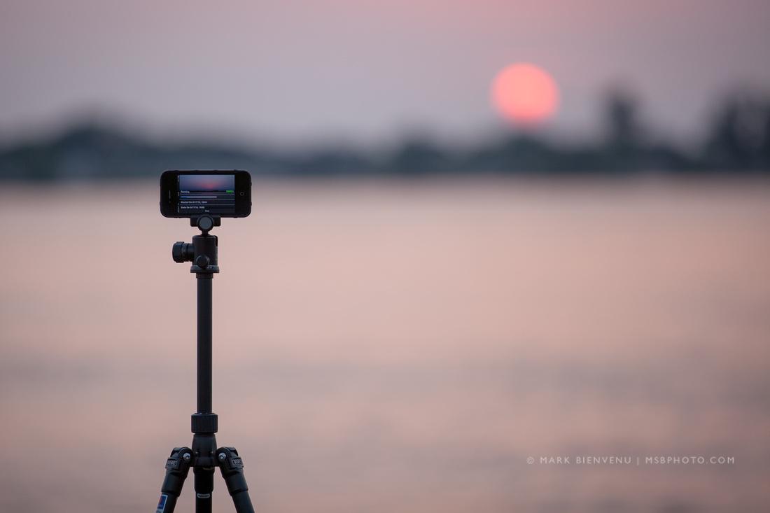 Baton Rouge Sunset - Mississippi River - Louisiana
