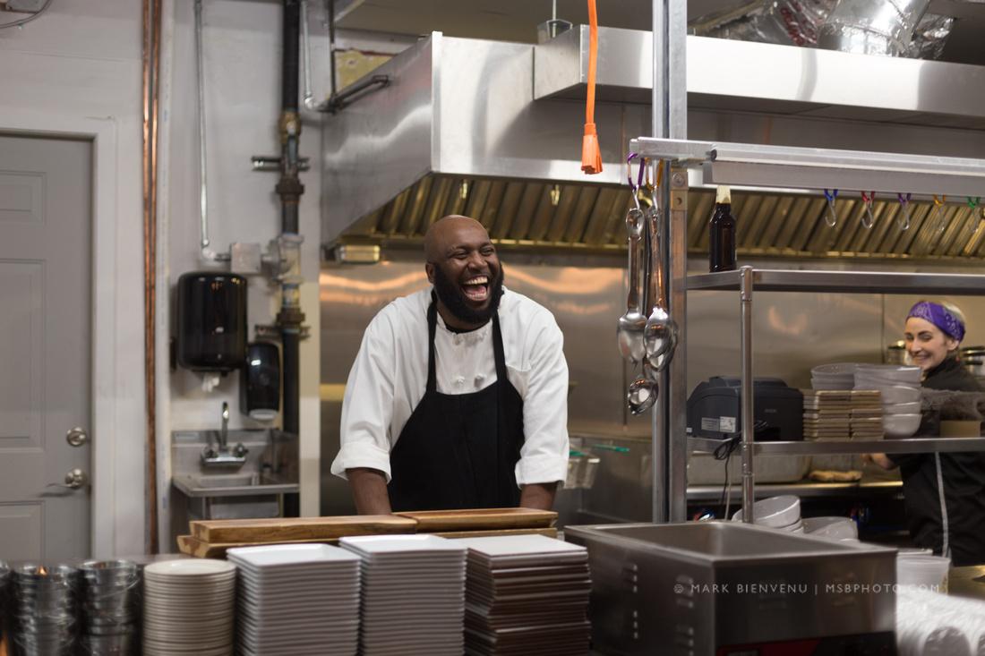 Dinner & A Movie at Gouter Restaurant   Baton Rouge Event Photographer Mark Bienvenu