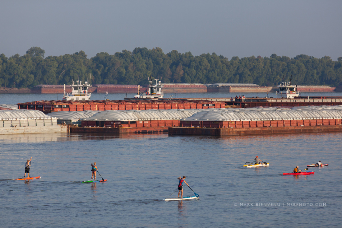 Big River Regional YOLO race on the Mississippi River photographed by Mark Bienvenu