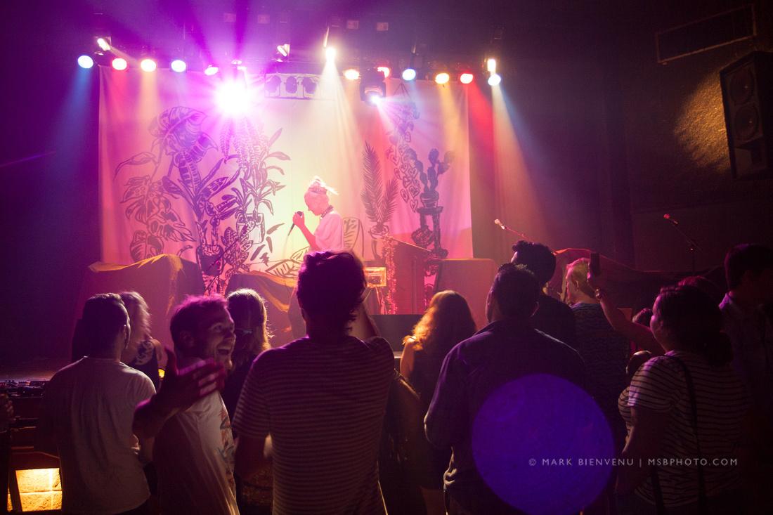 MNDR at the Varsity Theater in Baton Rouge, Louisiana