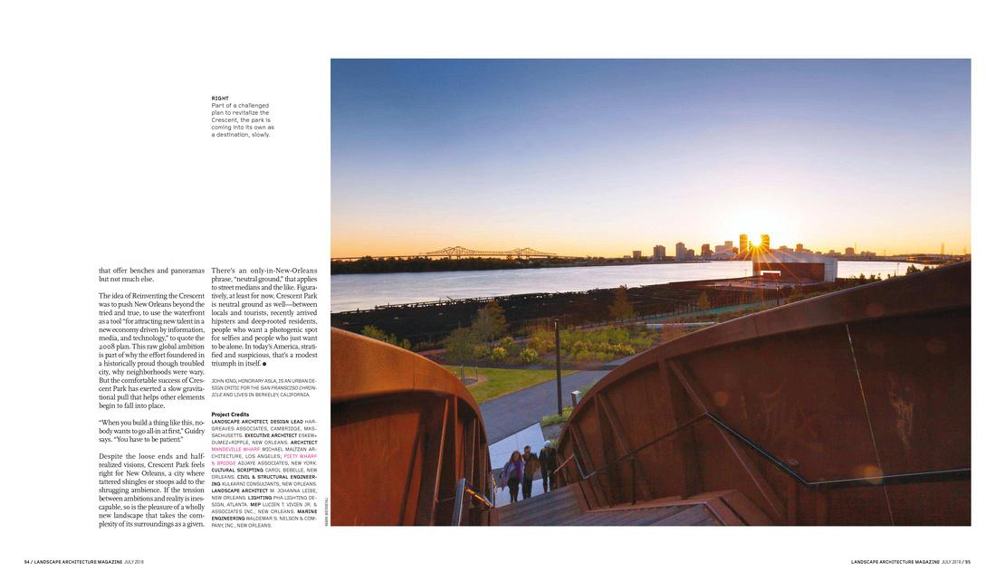Crescent Park | Landscape Architecture Photographer Mark Bienvenu