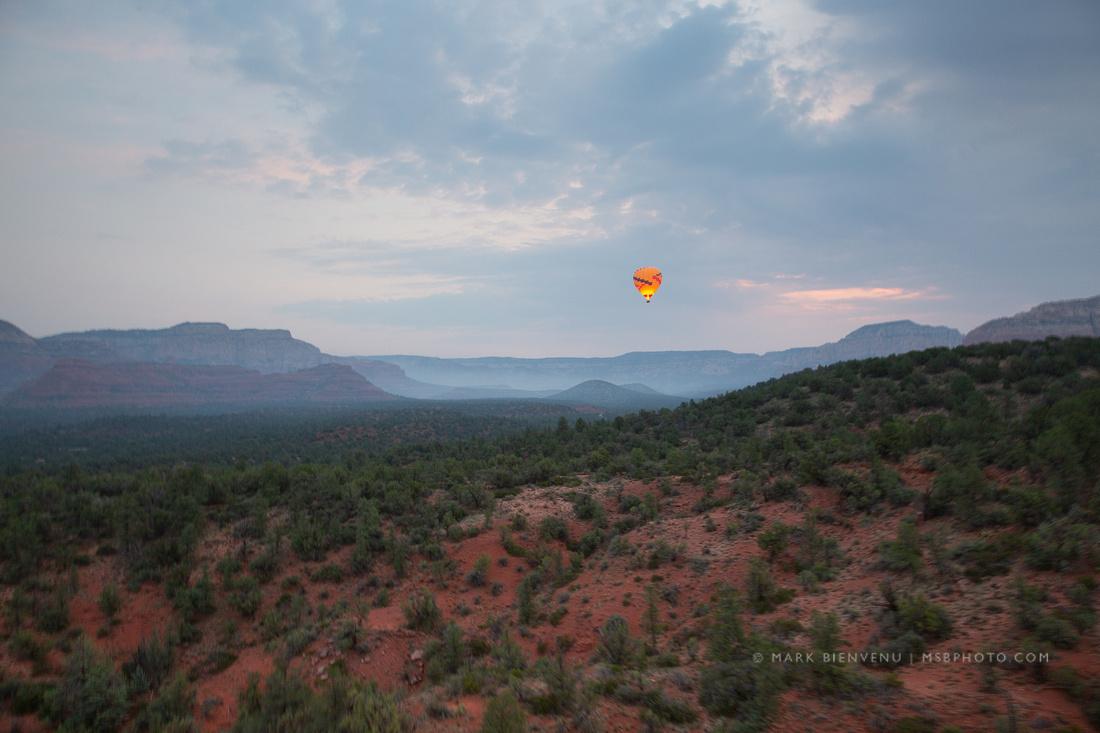 Sedona, Arizona Hot Air Balloon | Landscape Photographer Mark Bienvenu