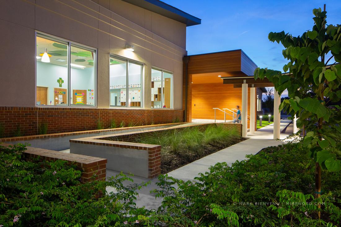 St. George School | Louisiana Architectural Photographer Mark Bienvenu
