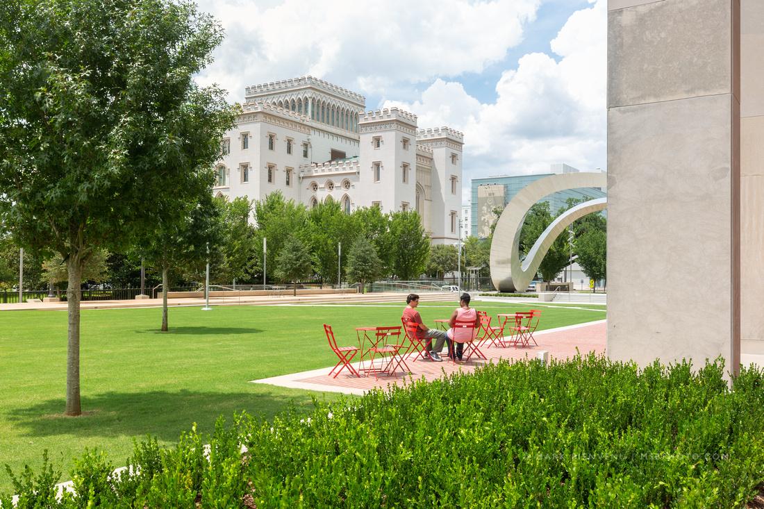 City Hall Plaza | Louisiana Landscape Architecture Photography by Mark Bienvenu