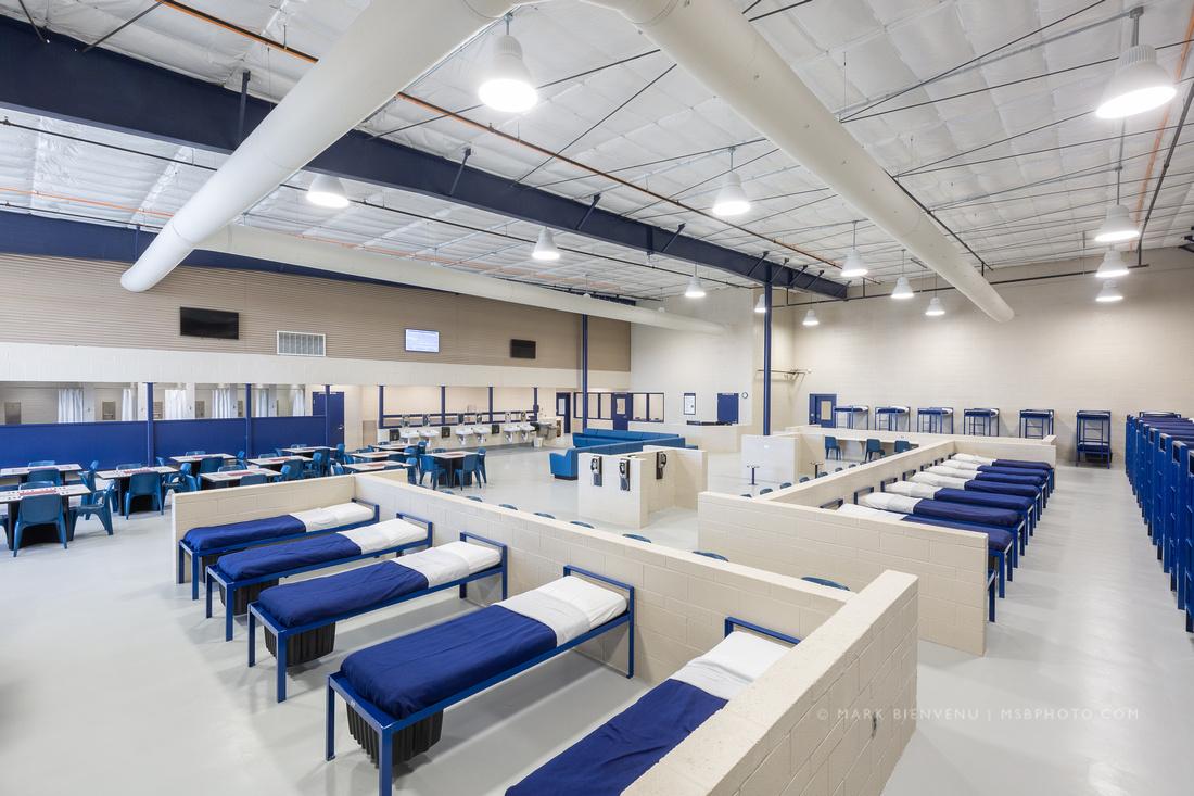 Lafourche Parish Correctional Complex | Louisiana Architectural Photographer Mark Bienvenu