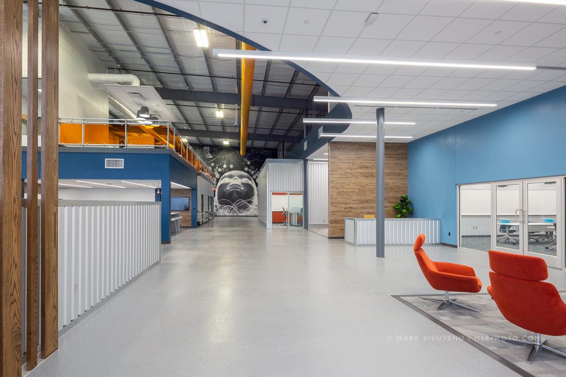 Alliance Emerging Technology Center | Louisiana Interior Design Photographer Mark Bienvenu