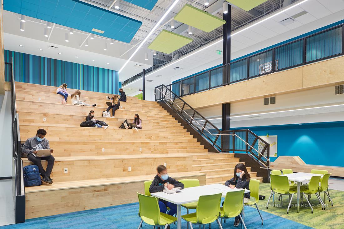 Bluff Middle School | Louisiana Architectural Photographer Mark Bienvenu