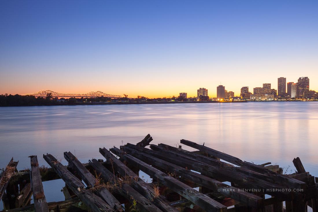 Crescent Park | Photography by Louisiana Architectural Photographer Mark Bienvenu