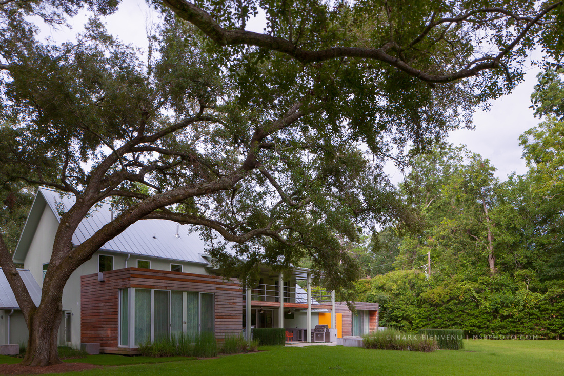 Under the Oak Tree   Residential Architectural Photographer Mark Bienvenu