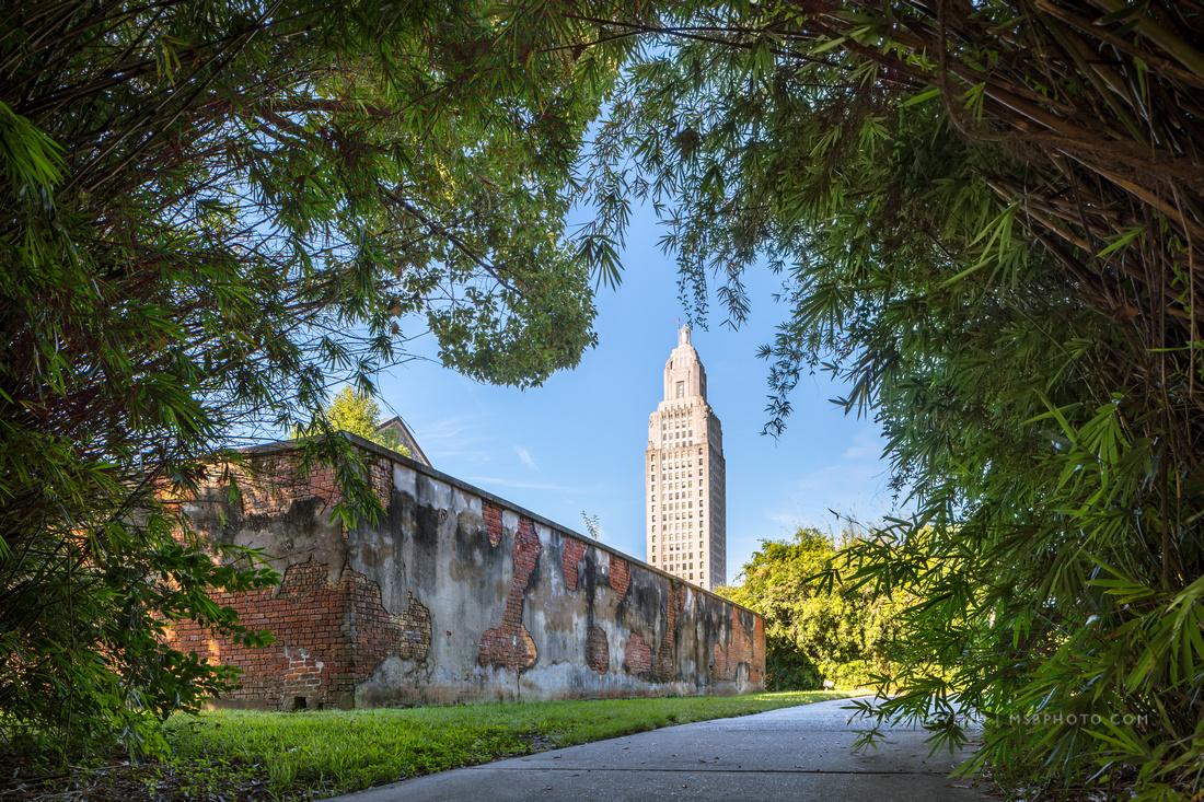 Louisiana State Capitol | Architectural Photographer Mark Bienvenu