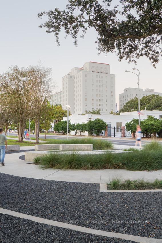LASM Yazoo Plaza | Landscape Architecture Photographer Mark Bienvenu