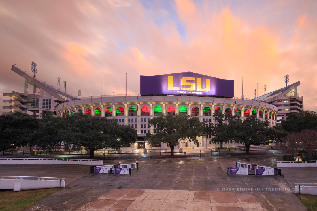 LSU Tiger Stadium | Louisiana Photographer Mark Bienvenu