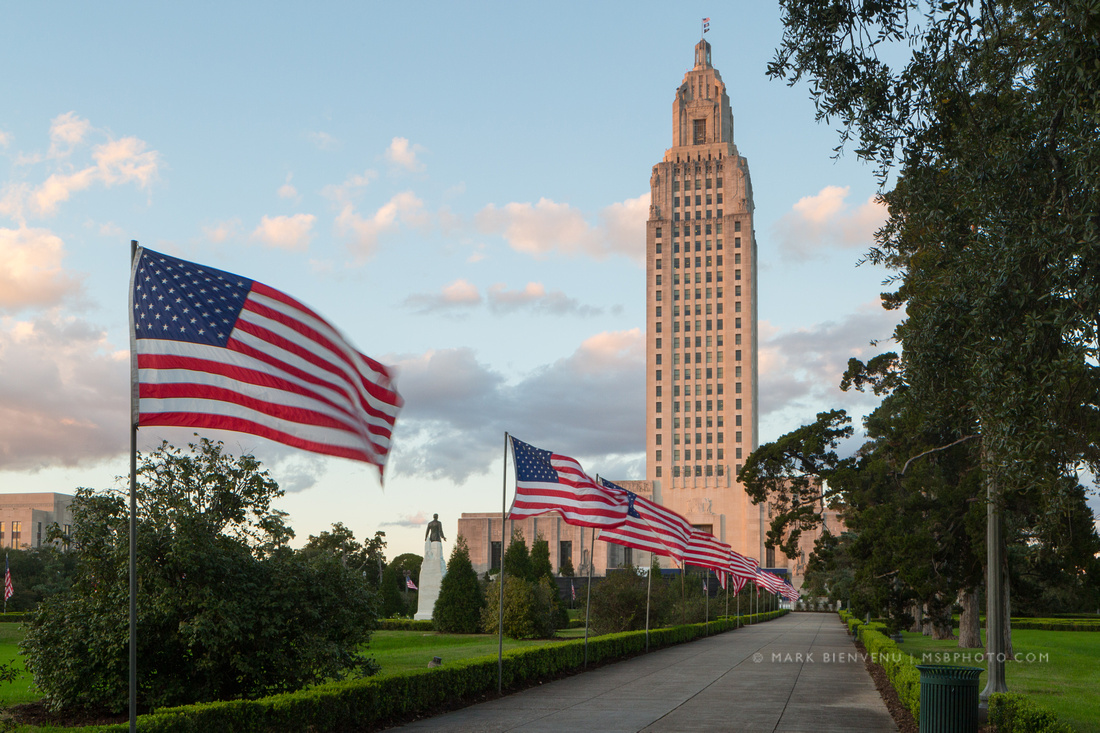 Louisiana State Capitol | Baton Rouge Photographer Mark Bienvenu